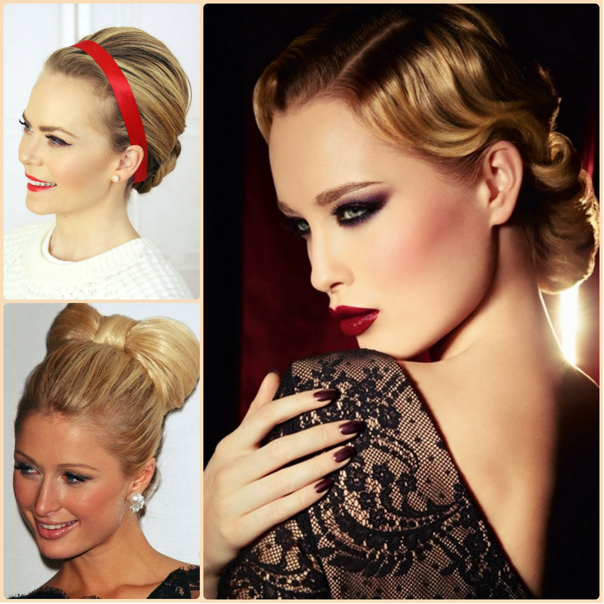 Chic Christmas Party Hairstyles To Start 2016 Long Hairstyles