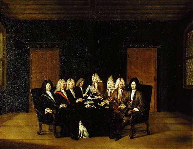 Archivo: Johann Rudolf Huber Friedenskongress 1714.jpg