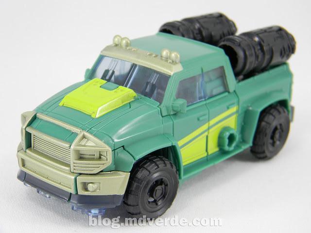Transformers Sargeant Kup - Prime RID - modo alterno