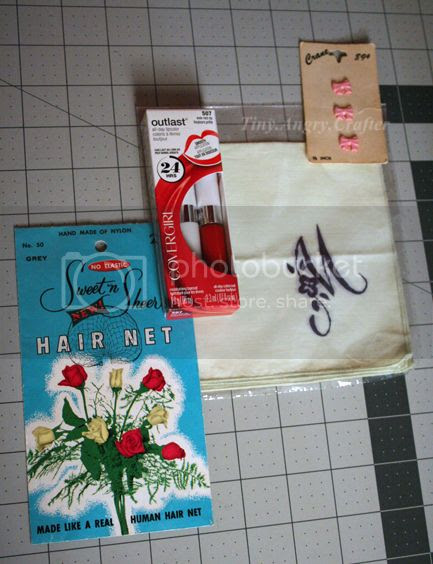 giveaway prizes for vintage pajama party and blog readers