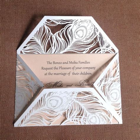125 best images about Laser Cut Wedding Invitations on