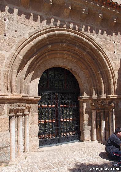 Portada de Santa Eulalia.Mérida. Cáceres