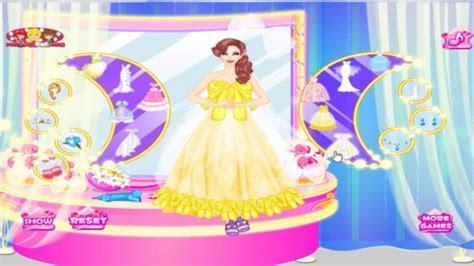 Disney Princess games Beautiful Princess Wedding Dress up