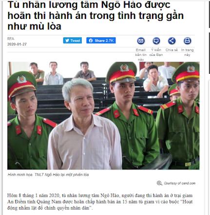 Vì sao Ngô Hào bị giới chống Cộng lãng quên?