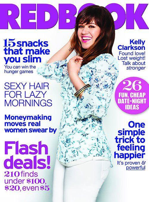 REDBOOK - July 2012, Kelly Clarkson