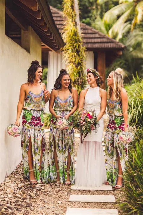 Sinead & Chris' Chic Tropical Wedding