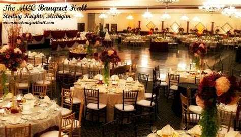 Elegant Banquet Hall in Metro Detroit Tome