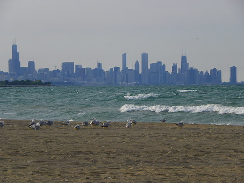 5.24.2009 Chicago (8) viewed from Rainbow South Chicago beach