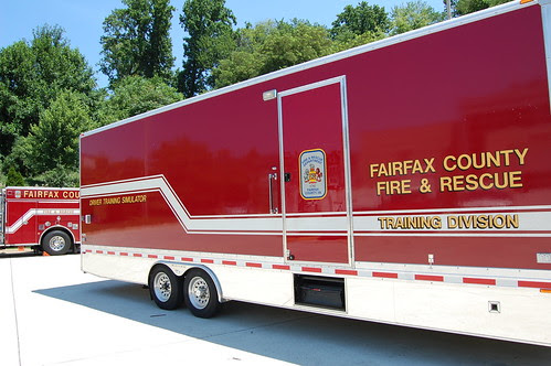 Fire Driver Training Simulator Truck by fairfaxcounty
