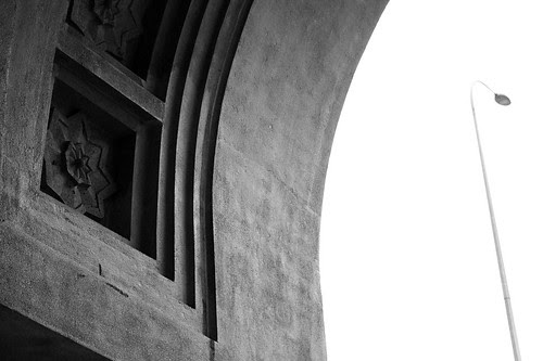 Tanjong Pagar Railway Station - Arch door
