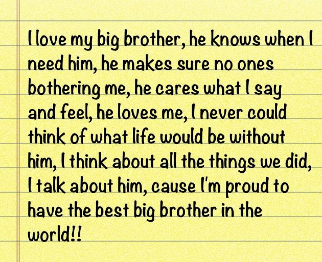 Quotes About My Brother 781 Quotes