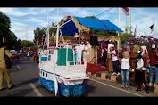 Video : Pelepasan Peserta Lomba Becak Hias Dan Parade Motor Antik