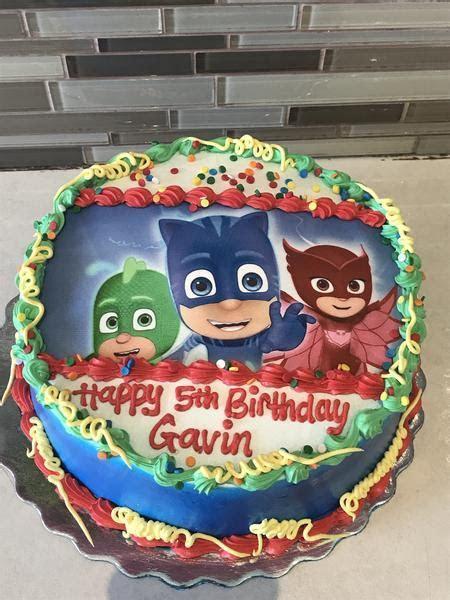 PJ Mask Photo Cake   Rashmi's Bakery