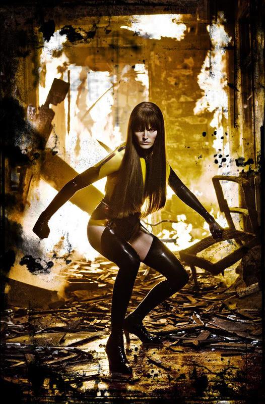 Malin Akerman as Silk Spectre