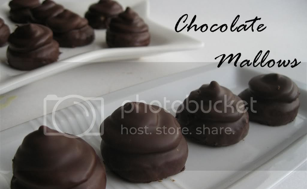 Finger Licking Food: Chocolate Mallows for the Daring Bakers
