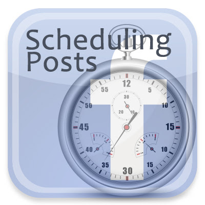 Use the Facebook Scheduler