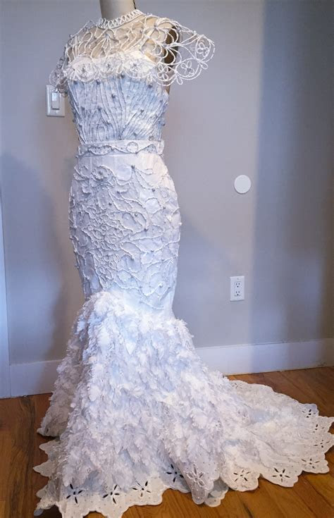 12th Annual Toilet Paper Wedding Dress Contest   The