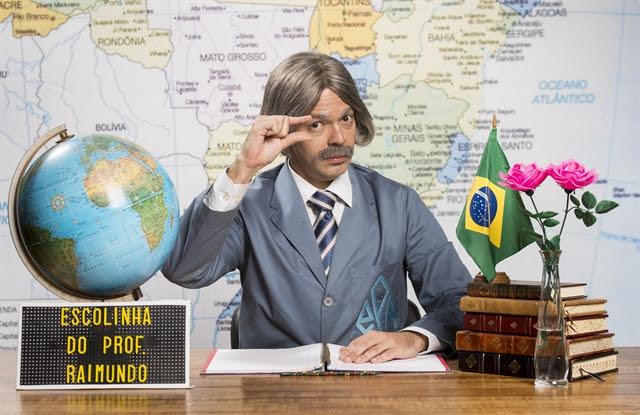Professor Raimundo (Bruno Mazzeo) (Foto: Globo/João Miguel Júnior)