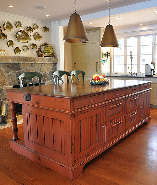 Kitchen Island & Cabinets - J. Tribble
