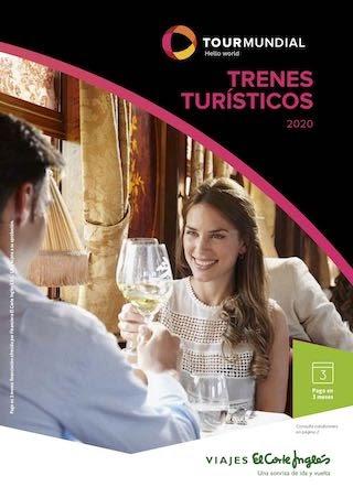 Trenes turisticos El Corte Inglés 2020