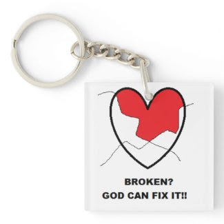 God Can Fix It KeyChain