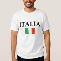 Italy  tee shirt