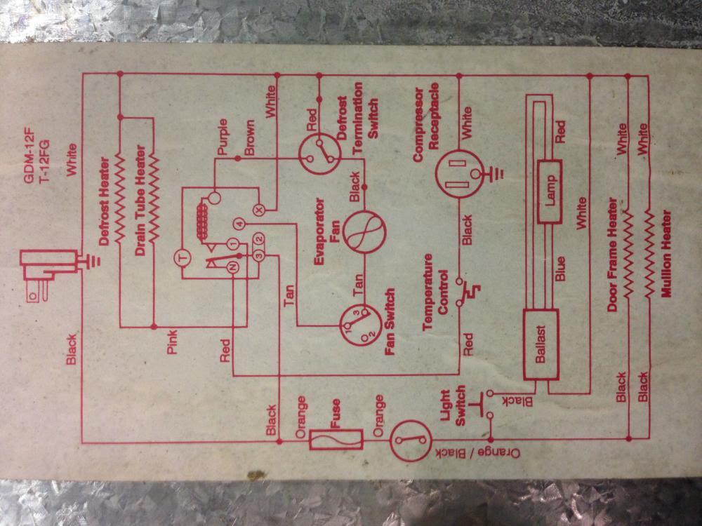 35 True T 23f Wiring Diagram