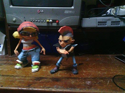 Subway Surfers Papercraft Spike