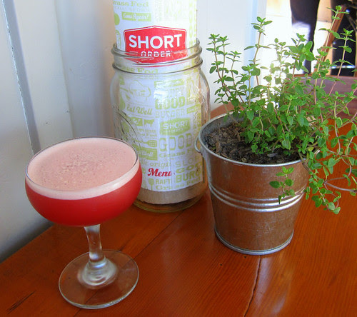 bourbon-pomegranate cocktail