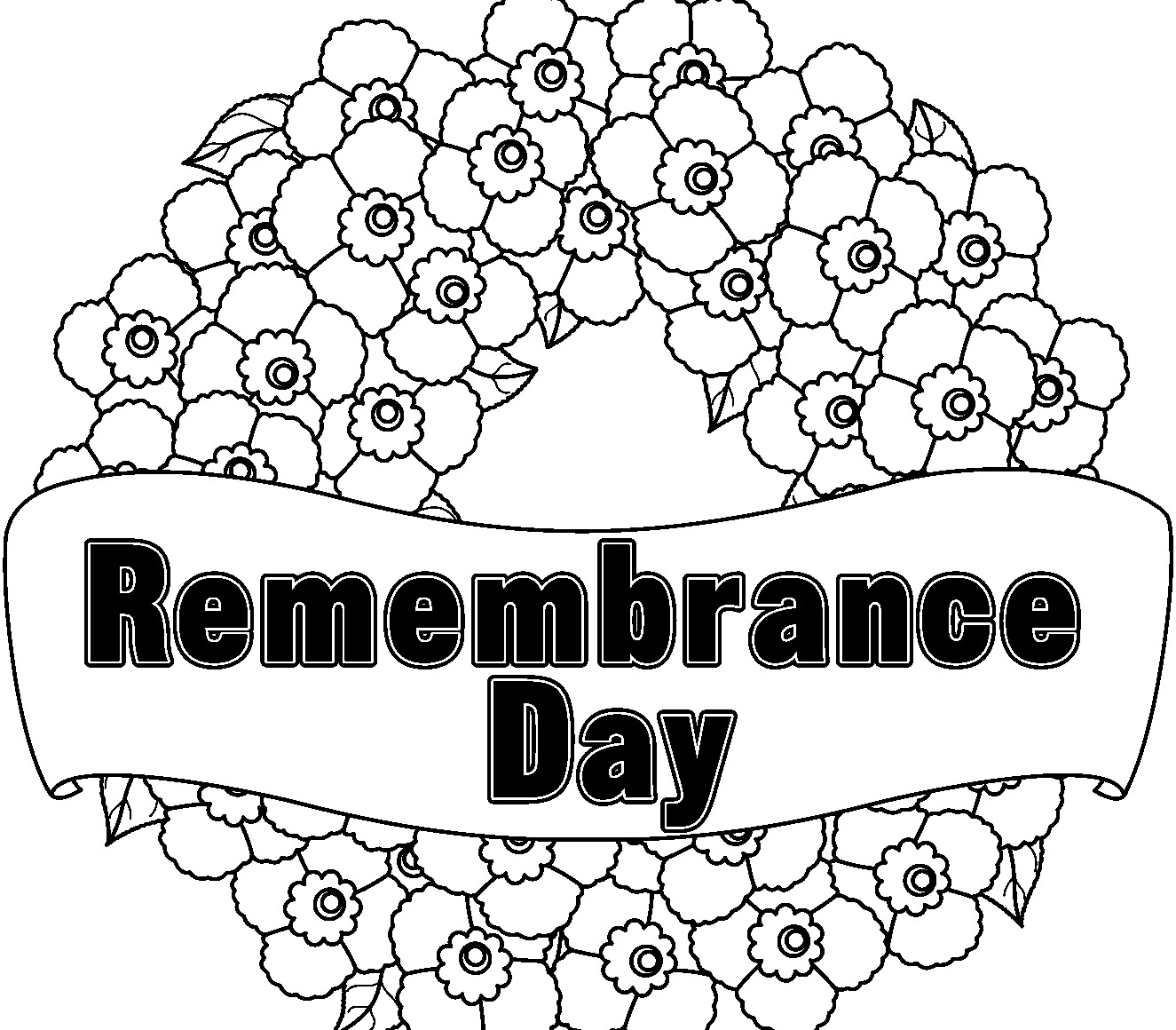 Remembrance Day Coloring Pages - Coloring Home