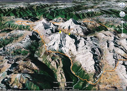 Yading Google Earth