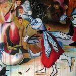 """""""Le messager du diable"""" Huile/toile 97 x 128 cm 2008"""