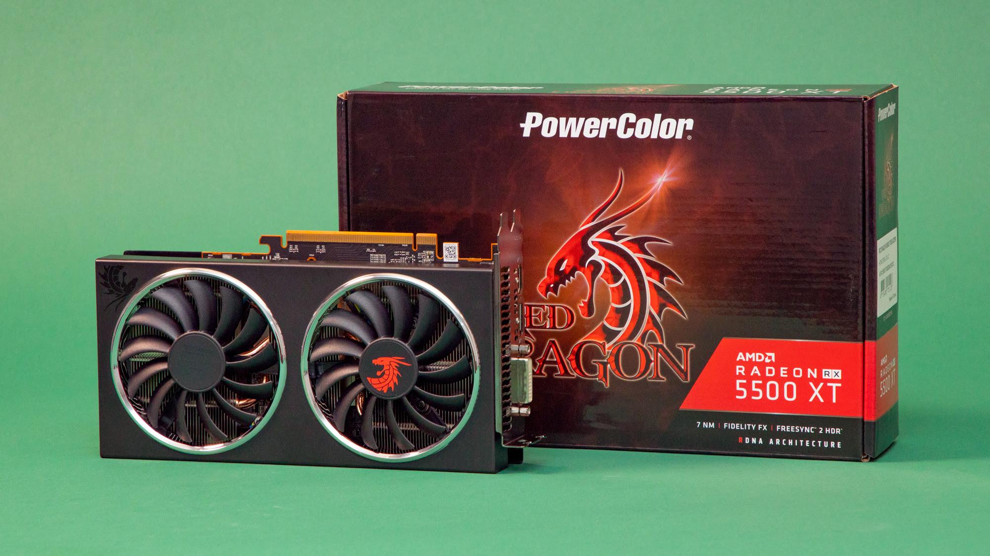 5. AMD Radeon RX 5500 XT