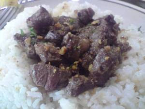 and my fave: US beef salpicao