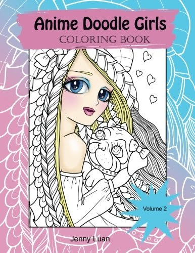 2 Anime Doodle Girls Coloring Book Volume Free Read New Releases