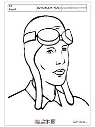 Pilot Boyama Sayfaları