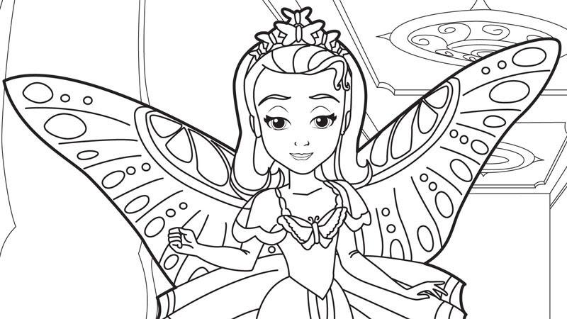 Princesa Sofia Para Colorear E Imprimir Imagui