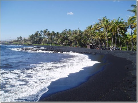 Praia de Punaluu 2