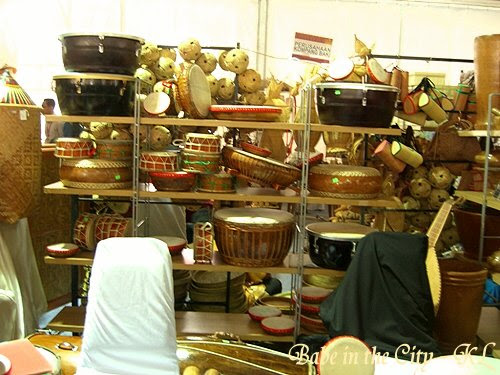 Various traditional drums