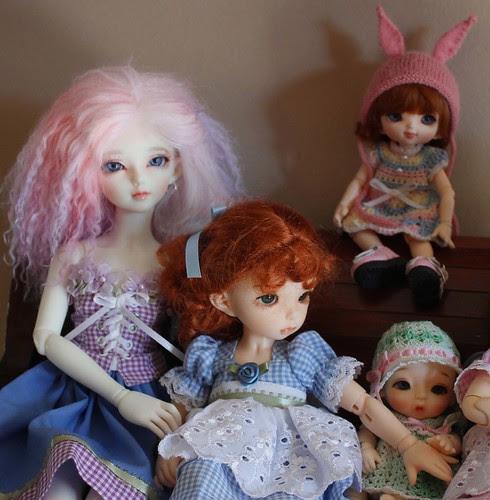 Panalaya, Pumpkin, Serenity, and Penny