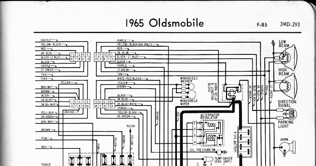 Wiring Diagram Radio For 1988 Oldsmobile