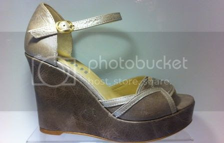 wedge sandal in taupe and brown by fidji shoes photo fidjisandalP07L600001.jpg