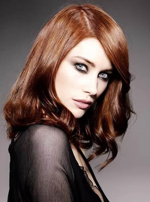 From a Ginger hair color to PreRaphaelite; seasonal color changes  Red Hairstyle