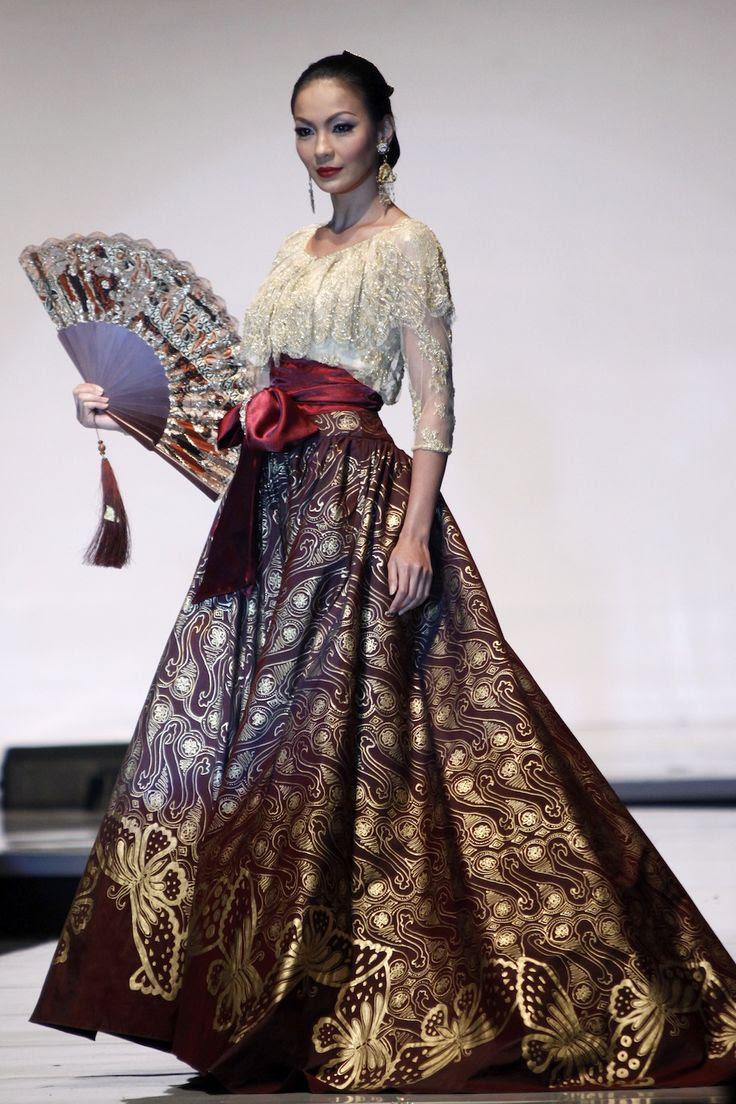 The Best Batik Dress  Designers Indonesia batik Pinterest