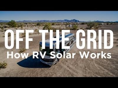 Gone with the Wynns: How RV Solar Works, Off Grid Solar Powered RV Air Conditioning, 960 Watt RV Solar Install, RV Solar Tilting, & Trona Pinnacles