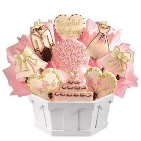Wedding Cookie Bouquet   Cookies by Design