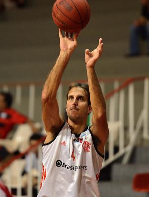 Basquete NBB - Flamengo x Uberlandia - Marcelinho (Foto: João Pires)
