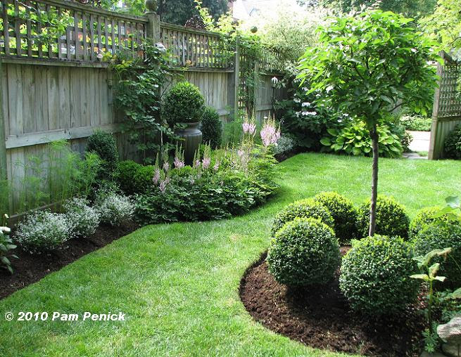 Evergreen Garden Design Ideas