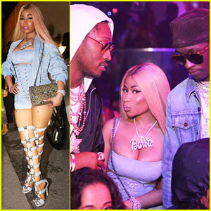 Nicki Minaj Lives It Up with Future & Young Thug in Miami!