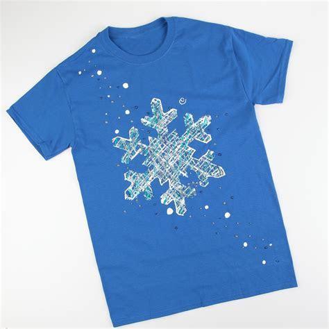 Let it Snow Snowflake T shirt   iLoveToCreate